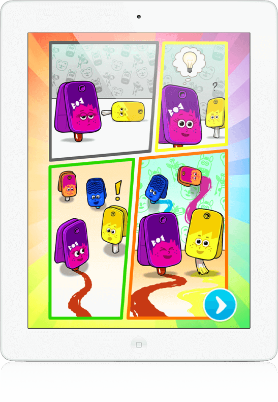 A Splash of Colours - Youth Marketing, Mobile Game, HTML5
