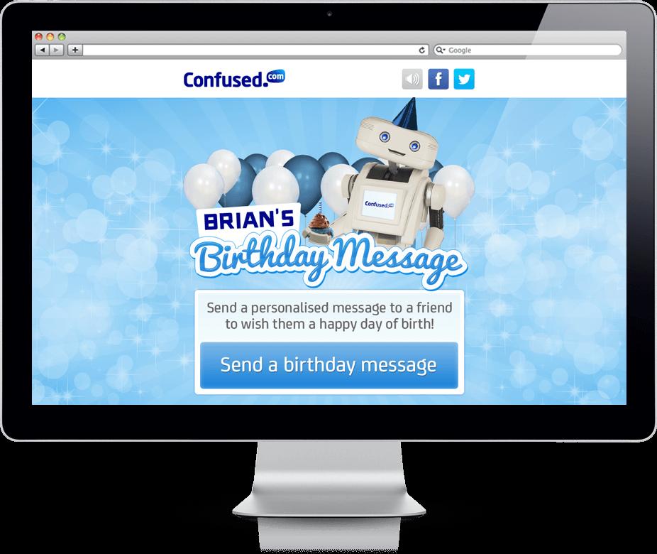 Brian's Birthday Message - Cross Platform, Facebook, HTML5