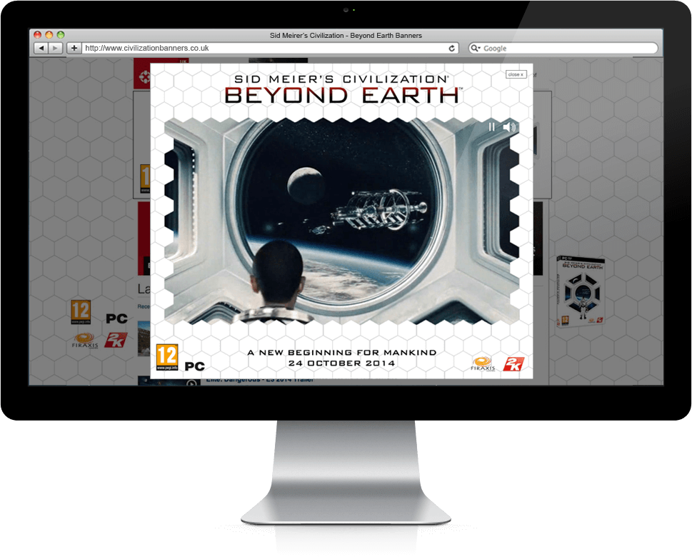 Beyond Earth - Banner Ads