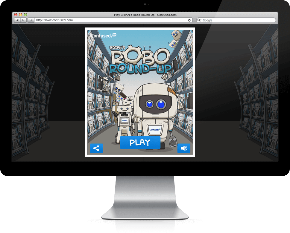 Brian's Robo Round-Up - HTML5, Mobile Game, Cross Platform