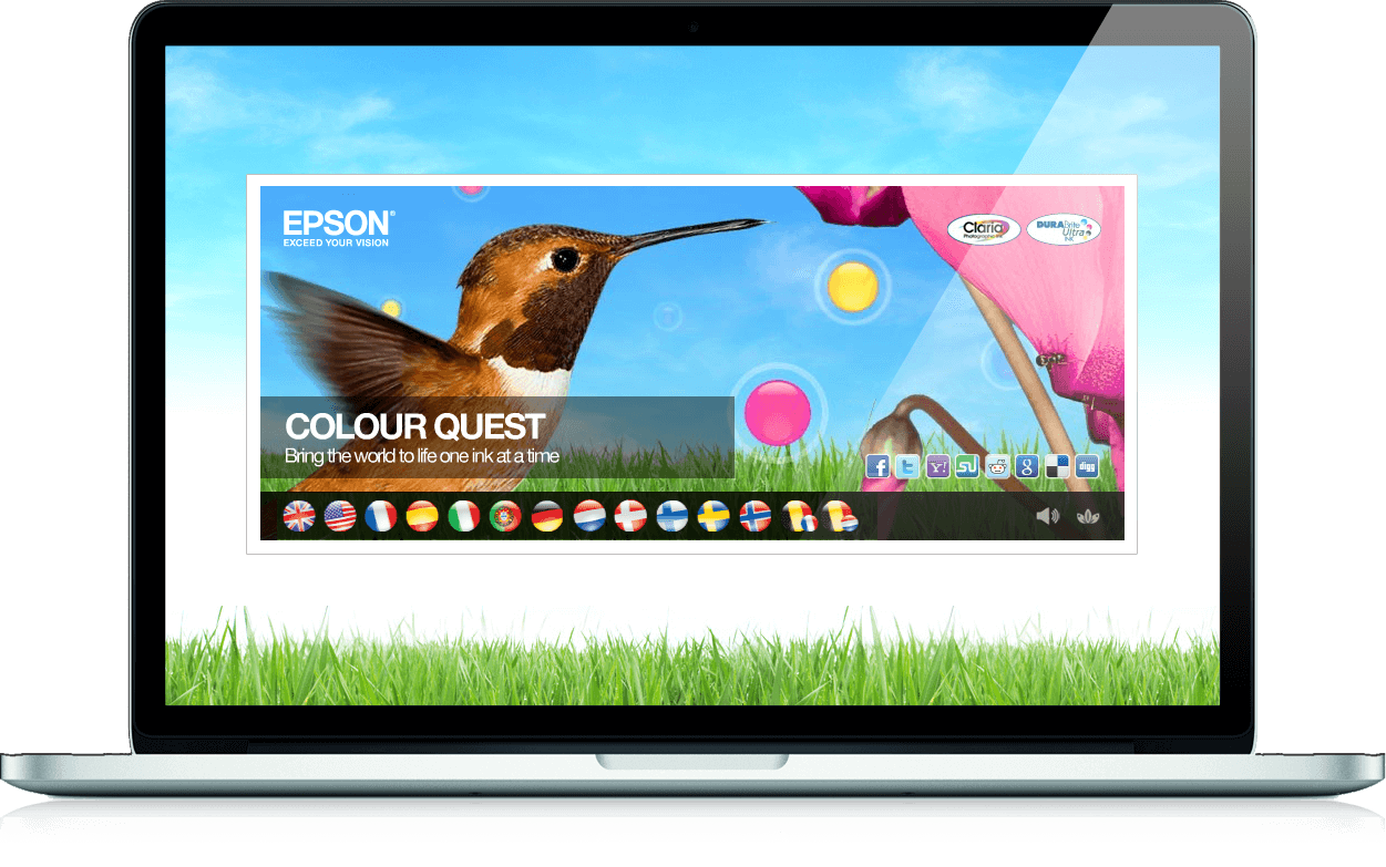 Colour Quest - Branded Games, Competition