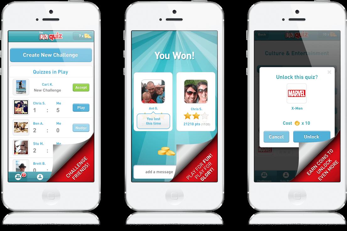 dk Quiz Mobile Game Ios App