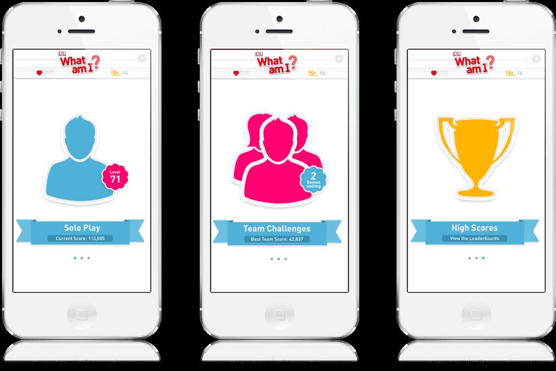 DK What Am I? - Mobile Game, iOS App, Social App