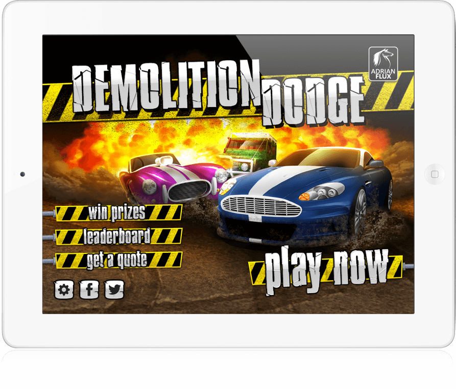 Demolition Dodge - iOS App, Android App, Facebook