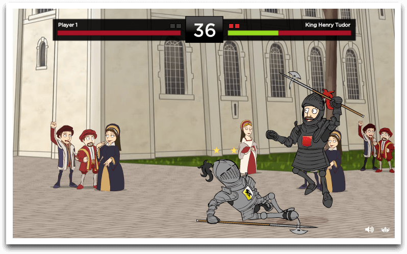 Henry VIII Dressed to Kill - Viral Game, Competition