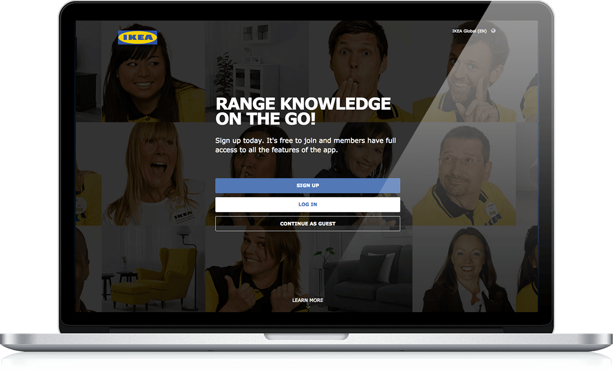 Range knowledge on the go! - Website, iOS App, Android App