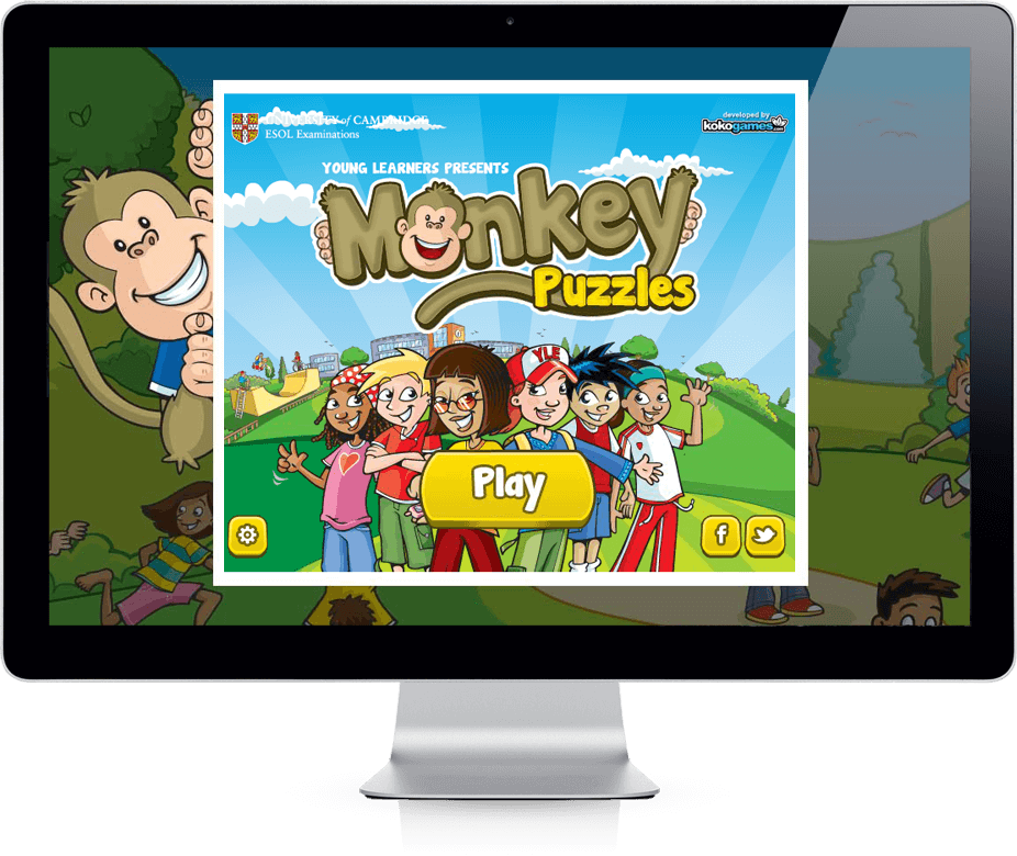 Monkey Puzzles - Viral Game, Mobile Game, Competition