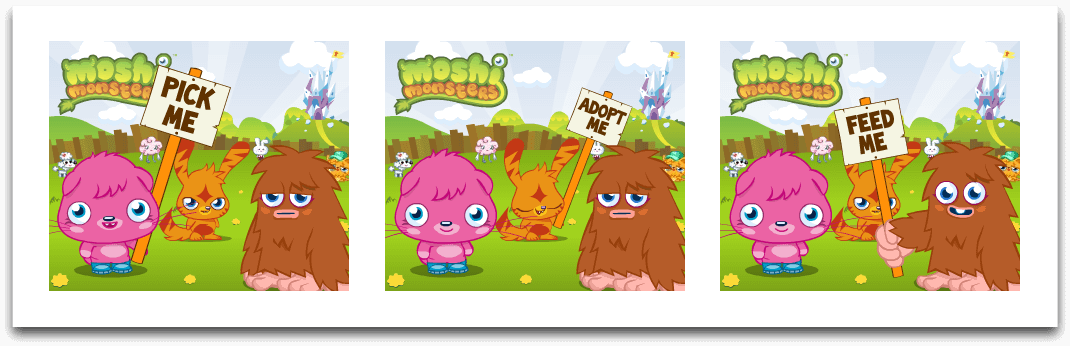Moshi Monsters - Banner Ads