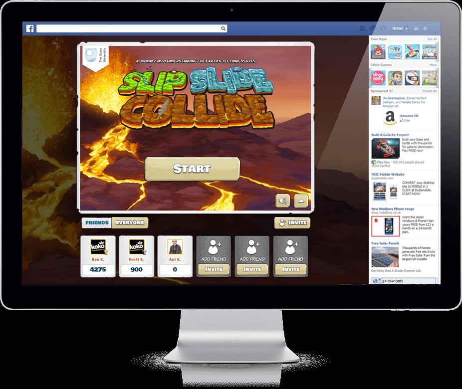 Slip Slide Collide - HTML5, Branded Games, Cross Platform