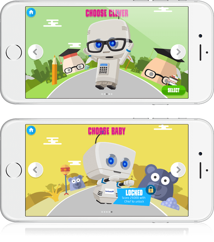 The Herberts' Robo Runner - HTML5, Mobile Game, Cross Platform