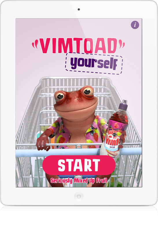 Vimtoad Yourself - iOS App, Android App, Social App