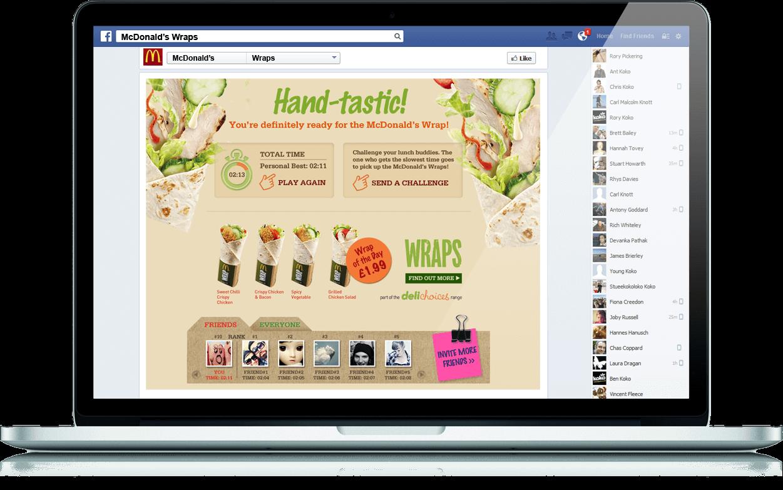 Wraps Challenge - Social App