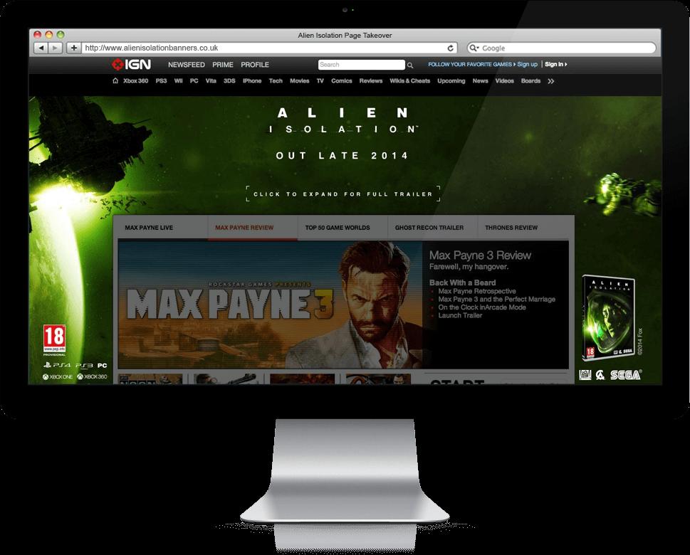 Alien Isolation - Banner Ads