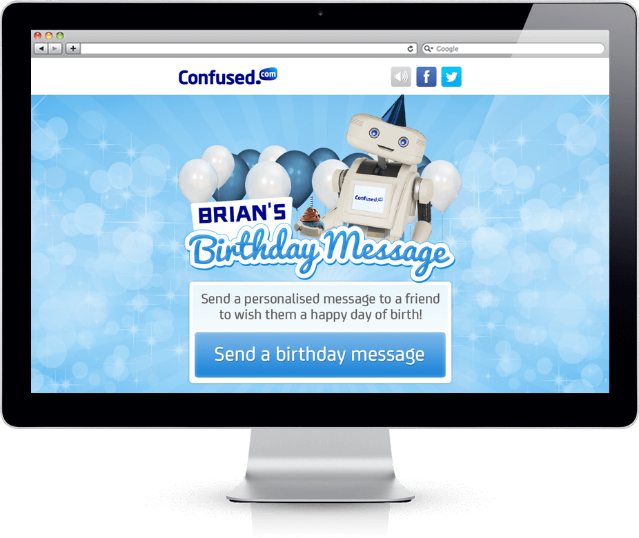 Brian's Birthday Message - Cross Platform, Facebook, HTML5