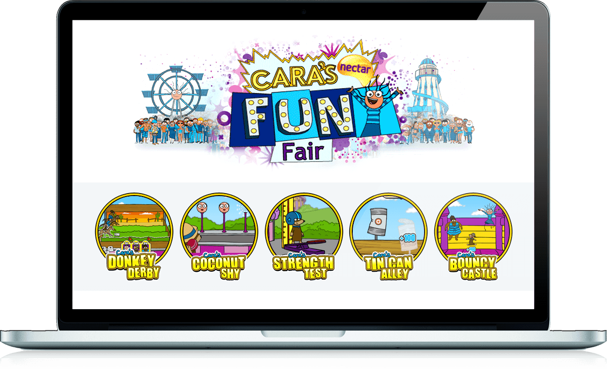 Cara's Funfair - Branded Games, Competition