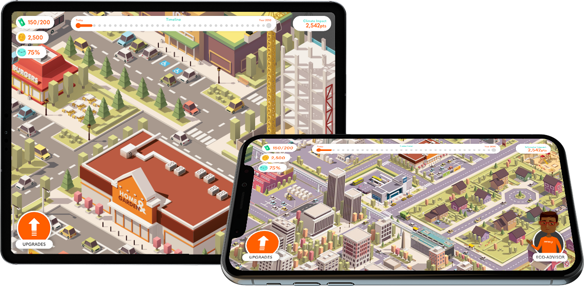 Climate Crisis - Branded Games, HTML5, Youth Engagement