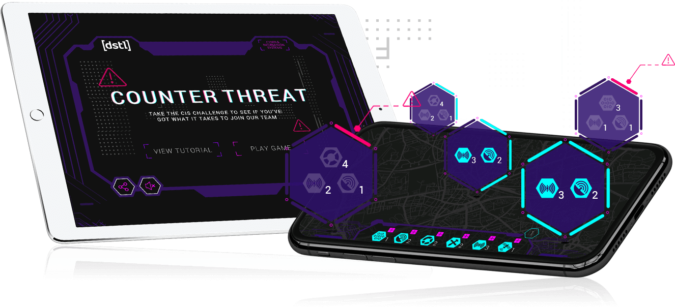 Counter Threat - Branded Games, HTML5, Digital Marketing