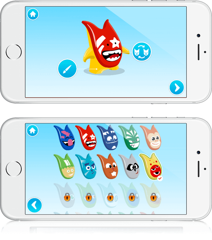 Crazy Friends - HTML5, Cross Platform, Educational Game
