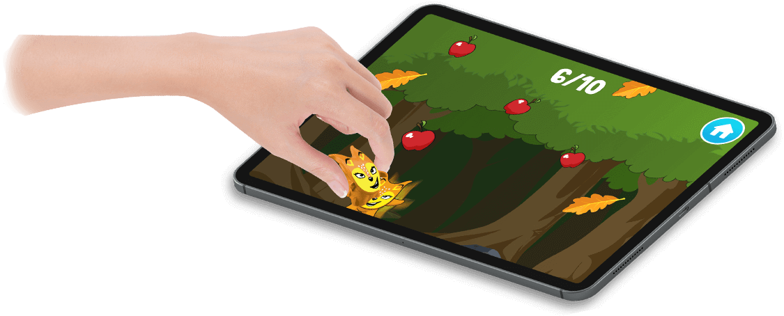 Crazy Friends Digital Touch - HTML5, Cross Platform, Educational Game