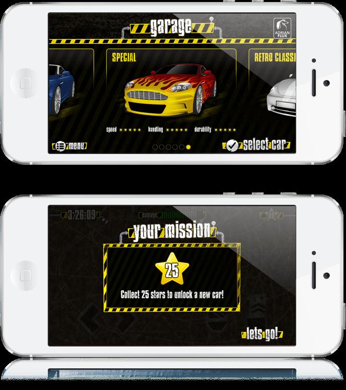 Demolition Dodge - iOS App, Android App, Facebook