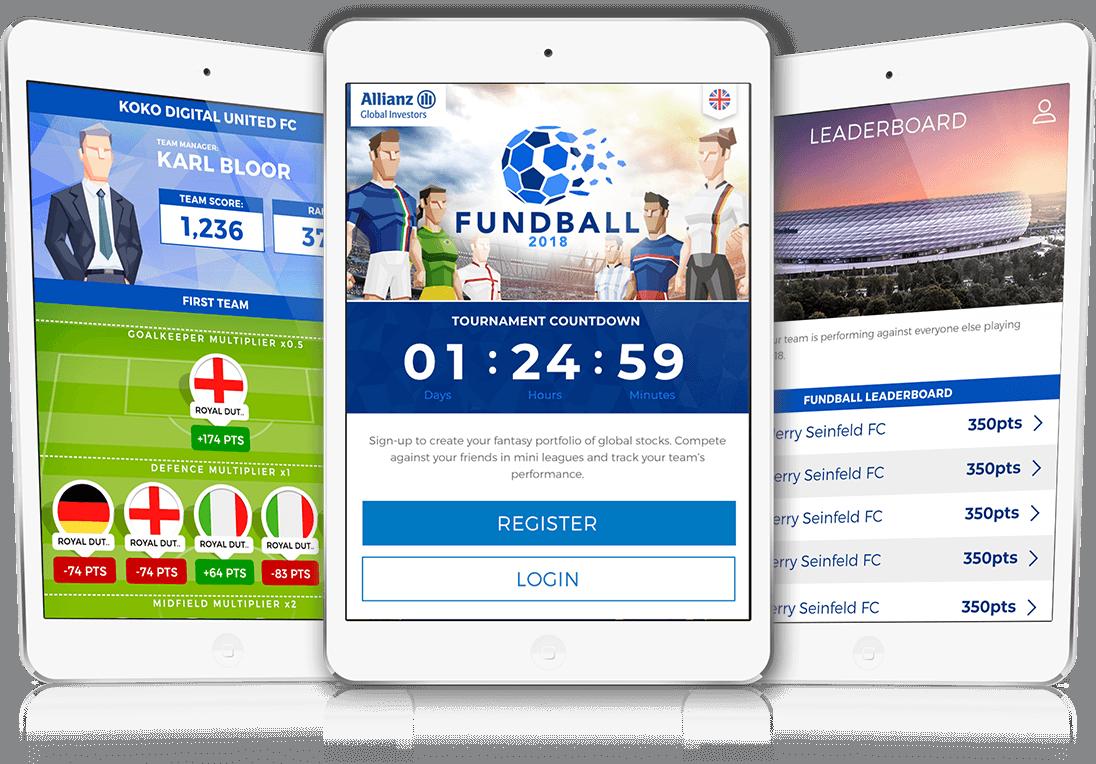 Fundball 2018 - HTML5, Cross Platform, Competition