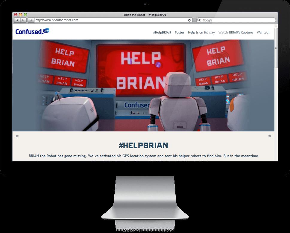 #HelpBRIAN - Microsite, Cross Platform