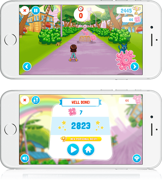 Infinimix Puppy Parade - HTML5, Youth Marketing, Mobile Game