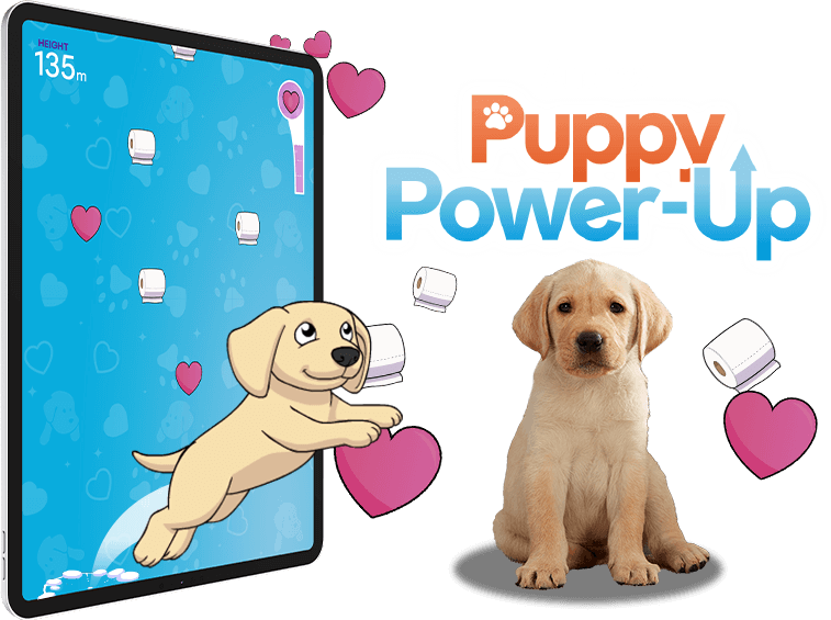 Puppy Power-Up - Branded Games, HTML5, Viral Game