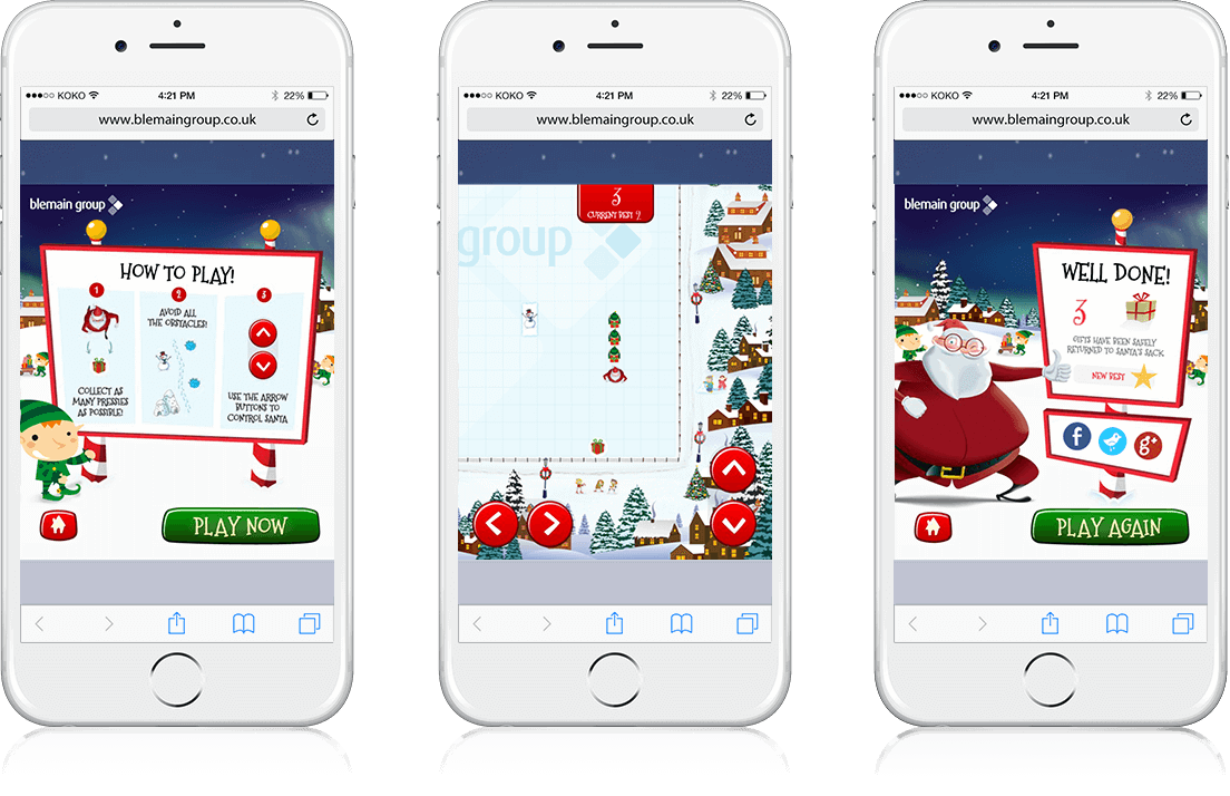 Santa's Gift Hunt - HTML5, Mobile Game, Cross Platform