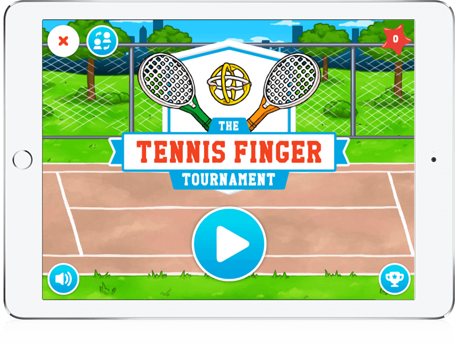 Tennis Finger - Youth Marketing, Mobile Game, HTML5