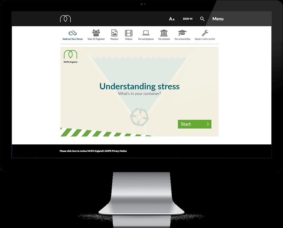 Understanding Stress - HTML5, Cross Platform, Responsive
